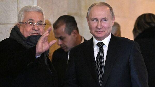 Радна посета председника Русије Владимира Путина Палестини  - Sputnik Србија