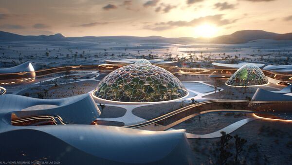 Construction on the self-sustaining, bio-regenerative village is set to begin next year - Sputnik Srbija