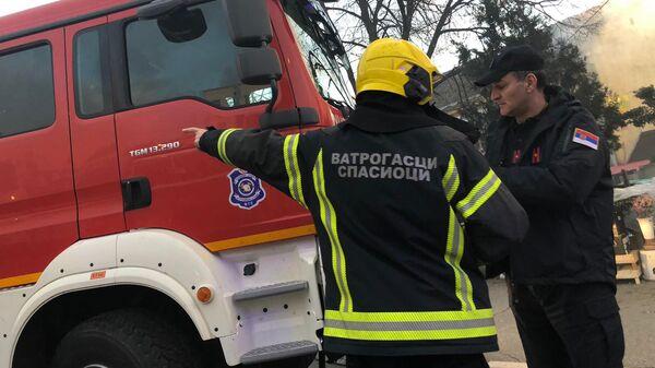 Vatrogasci, Srbija - Sputnik Srbija