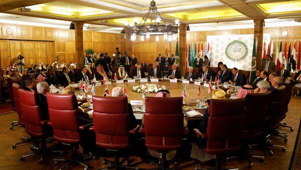 Заседање министара спољних послова земаља Арапске лиге у Каиру - Sputnik Србија
