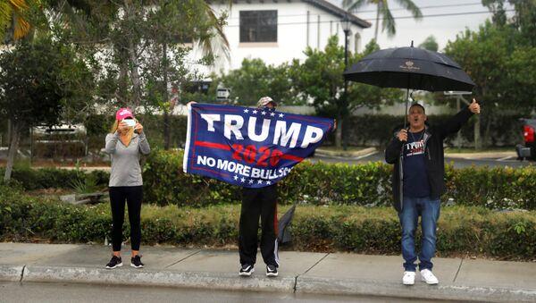 Pristalice američkog predsednika Donalda Trampa na Floridi - Sputnik Srbija