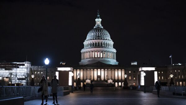 Зграда америчког Сената у Вашингтону - Sputnik Србија