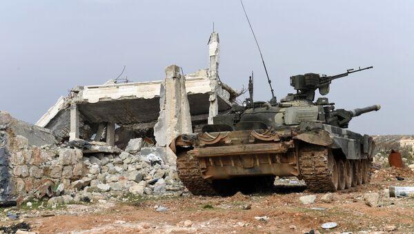 Sirijske vladine snage u severnoj sirijskoj provinciji Alep - Sputnik Srbija