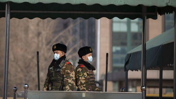 Кинески полицајци - Sputnik Србија