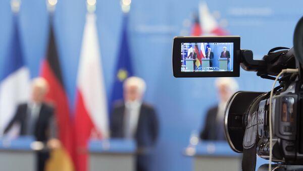 Vajmarski   trougao – Nemačka, Poljska, Francuska - Sputnik Srbija