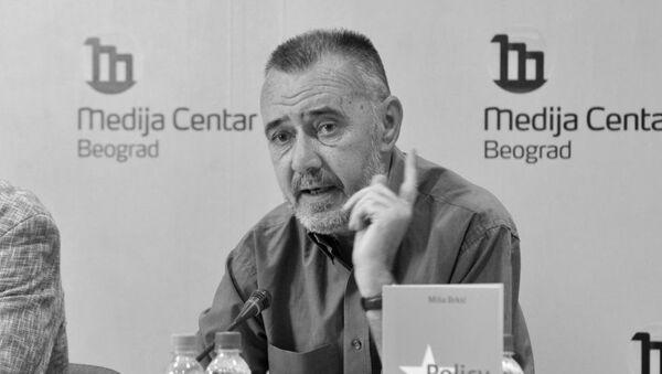 Dragoljub Žarković glavni urednik nedeljnika Vreme - Sputnik Srbija
