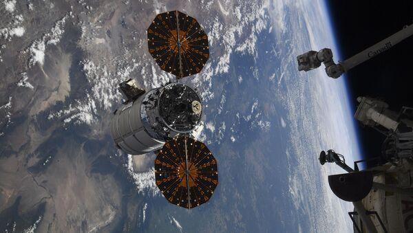 Odvajanje broda Cignus NG od Međunarodne svemirske stanice - Sputnik Srbija