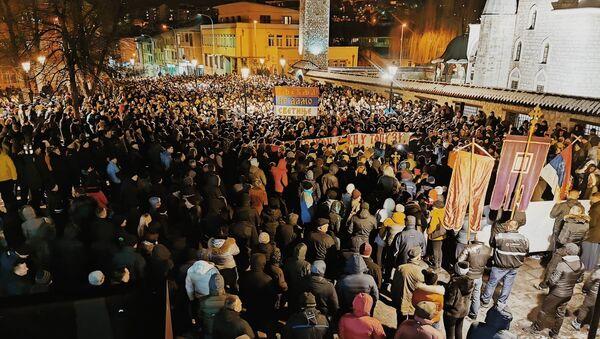 Litija u Pljevljima - Sputnik Srbija