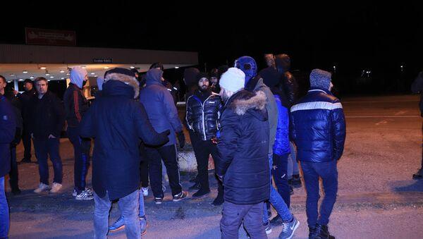 Migranti na prelazu Kelebija - Sputnik Srbija