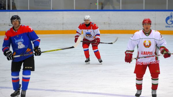 Predsednik Rusije Vladimir Putin i beloruski lider Aleksandar Lukašenko - Sputnik Srbija