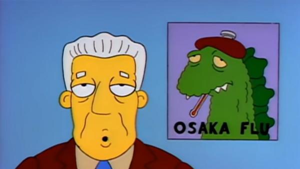 Simpsonovi predvideli virus - Sputnik Srbija