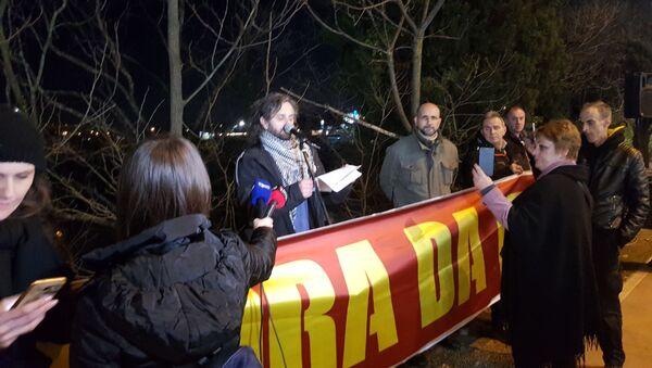 Građanski protest Mora da ode - Sputnik Srbija