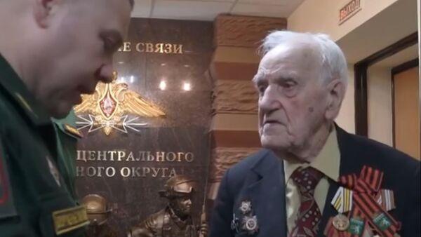 Viktor Volkovič veteran iz Drugog svetskog rata - Sputnik Srbija
