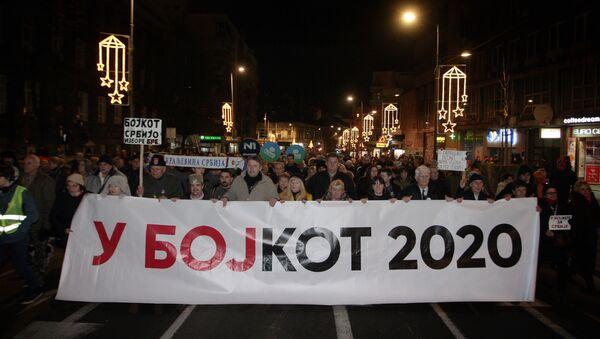 Šetnja Bojkot - Sputnik Srbija