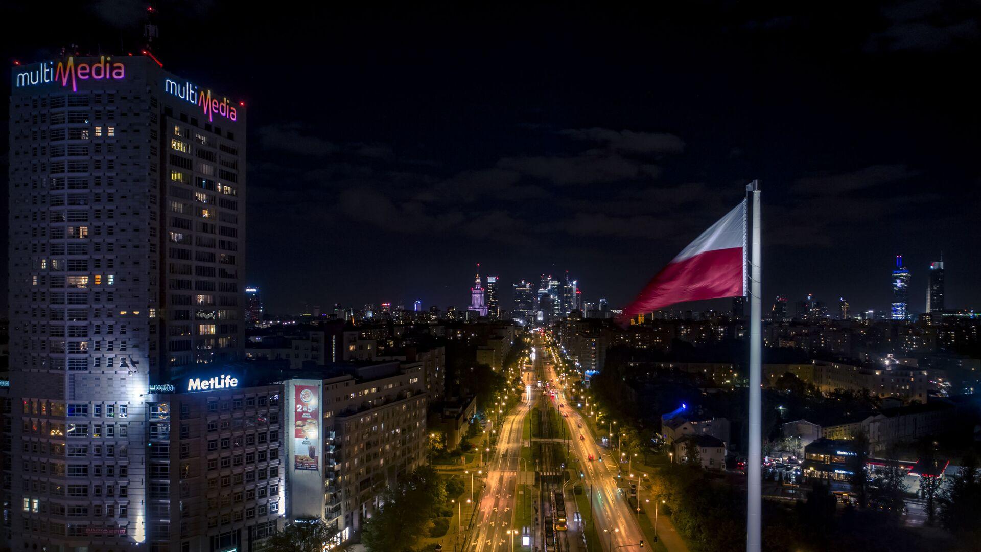 Застава Пољске у Варшави - Sputnik Србија, 1920, 19.05.2021