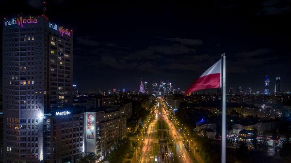 Застава Пољске у Варшави - Sputnik Србија