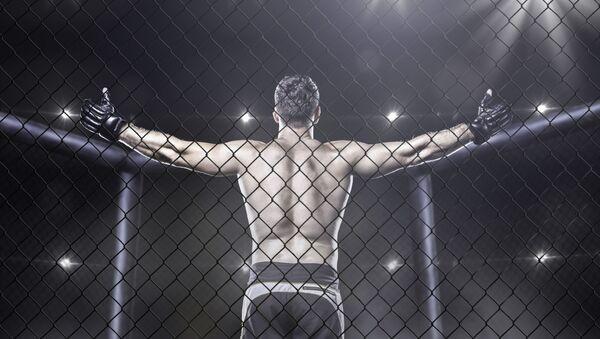 ММА борац у рингу - Sputnik Србија