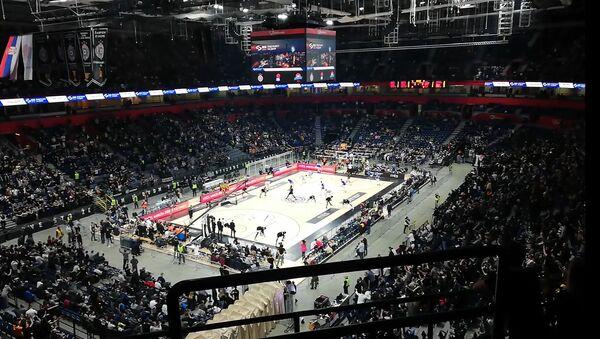 Utakmica Partizan - Budućnost u Areni - Sputnik Srbija