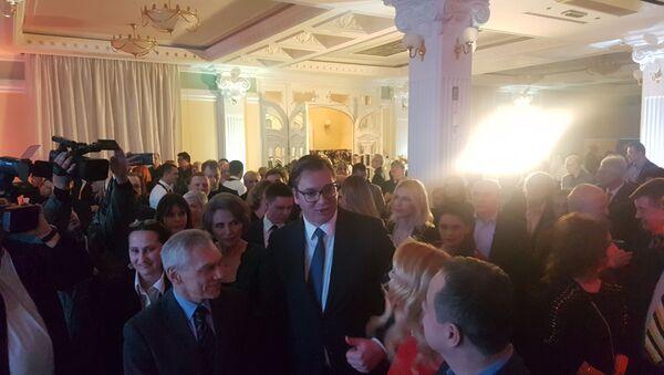 Председник Србије Александар Вучић на Спутњиковом рођендану - Sputnik Србија
