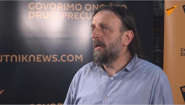 Живојин Ракочевић на петом рођендану Спутњика  - Sputnik Србија