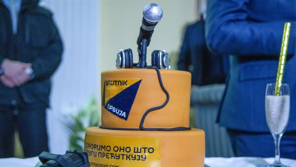 Rođendanska torta  - Sputnik Srbija