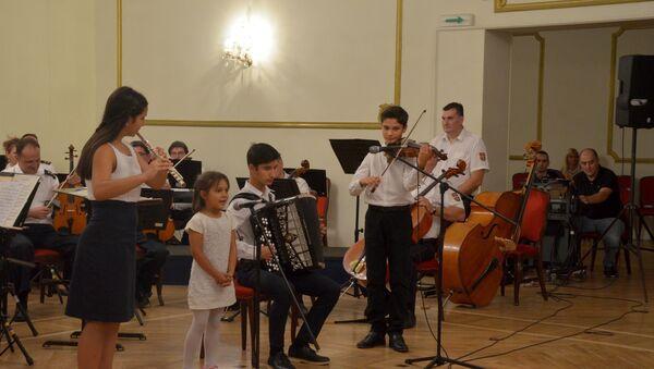 Концерт Наша деца уметничког ансамбла Министарства одбрене Станислав Бинички - Sputnik Србија