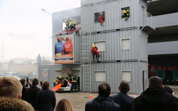 У Руско-српско хуманитарном центру приказане демонстративне вежбе у случају опасности - Sputnik Србија