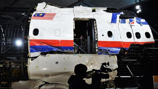 Олупина авиона Боинг 777 малезијске авиокомпаније који је летео на линији МХ17 - Sputnik Србија
