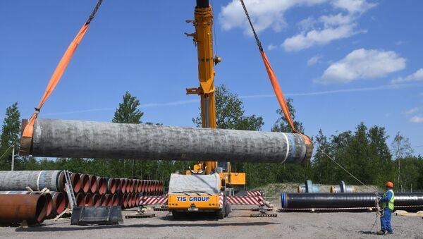 Izgradnja dela gasovoda Severni tok 2 u Lenjingradskoj oblasti - Sputnik Srbija