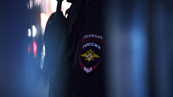 Амблем на униформи руског полицајца  - Sputnik Србија