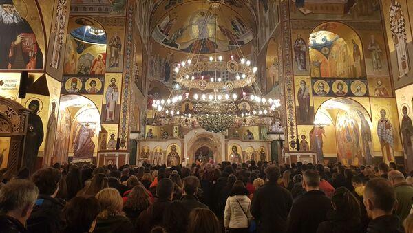 Hram Hristovog vaskrsenja u Podgorici - Sputnik Srbija