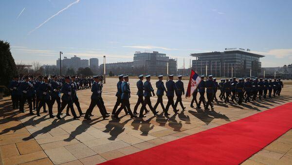 Pripreme za dolazak ruskog ministra Sergeja Šojgua  - Sputnik Srbija