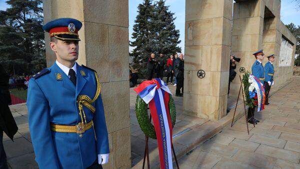 Priprema za dolazak ministra odbrane Ruske Federacije Sergeja Šojgua na polaganje venaca  - Sputnik Srbija