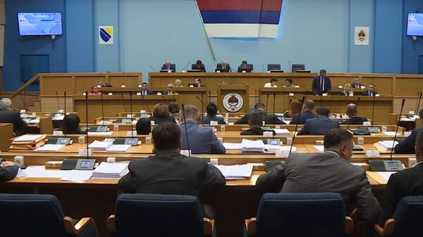 Sednica parlamenta Republike Srpske - Sputnik Srbija