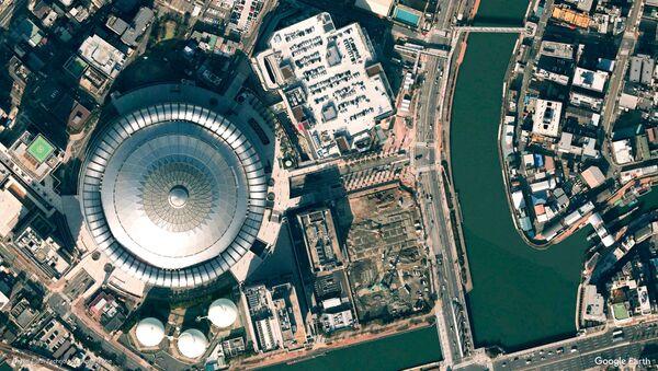 Pogled na Osaku iz kosmosa, Japan - Sputnik Srbija