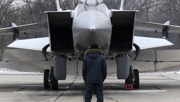 Lovac-presretač MiG-31 - Sputnik Srbija