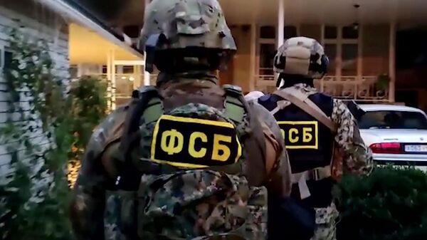 Pripadnici FSB tokom akcije hapšenja - Sputnik Srbija
