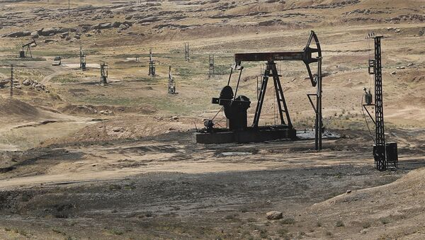 Nafta polja u sirijskoj provinciji Hasaka - Sputnik Srbija