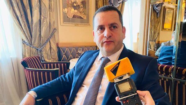 Ministar spoljnih poslova privremene Vlade Libije Abdulhadi el Huvejdž - Sputnik Srbija