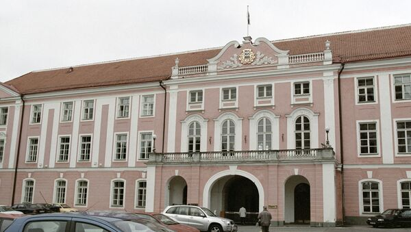 Zgrada estonskog parlamenta u Talinu - Sputnik Srbija