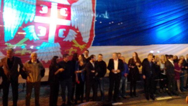 Новак Ђоковић у Београду прославио титулу на Аустралијен опену - Sputnik Србија