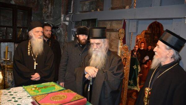 Митрополит Амфилохије у Пљевљима у Цркви Свете Петке - Sputnik Србија