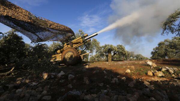 Протурски милитанти у Сирији ракетирају положаје сиријских владиних снага у провинцији Идлиб - Sputnik Србија