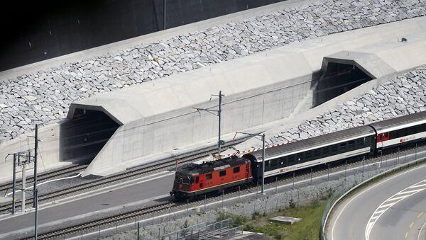 Novi tunel Gotard - Sputnik Srbija