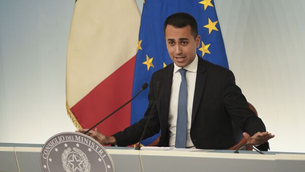 Ministar spoljnih poslova Italije Luiđi di Majo - Sputnik Srbija