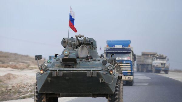 Патрола руске војне полиције у сиријској провинцији Хасака - Sputnik Србија