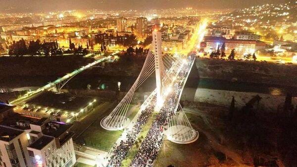 """Most """"Milenijum"""" u Podgorici - Sputnik Srbija"""