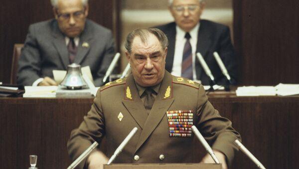 Генерал армије СССР Дмитриј Јазов након ступања на место министра одбране - Sputnik Србија