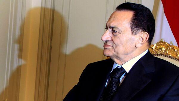 Бивши египатски председник Хосни Мубарак - Sputnik Србија
