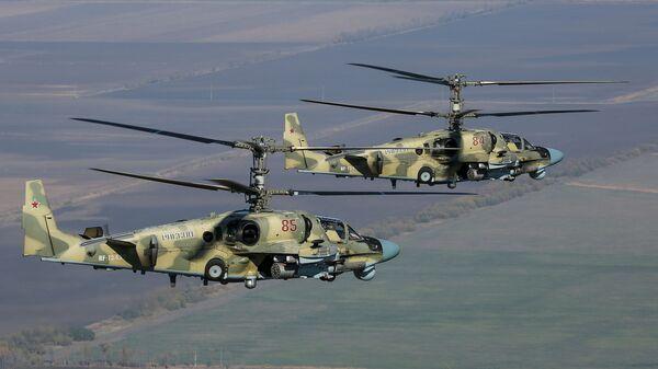 Udarni helikopteri Ka-52 Aligator - Sputnik Srbija